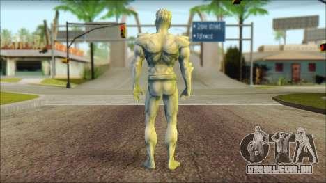 Iceman Comix para GTA San Andreas segunda tela