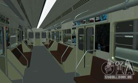 Uma nova estação de metrô de San Fierro para GTA San Andreas décima primeira imagem de tela