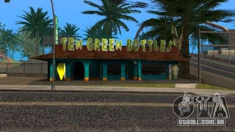 Novo bar em Ganton para GTA San Andreas quinto tela
