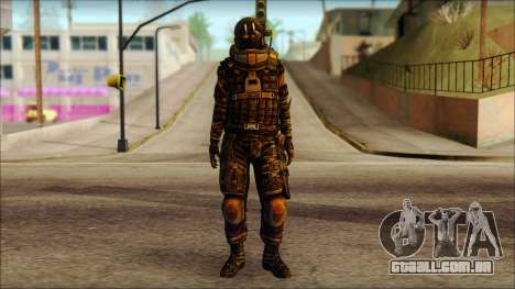 Наемник (Tom Clancy Splinter Cell: Blacklist) para GTA San Andreas