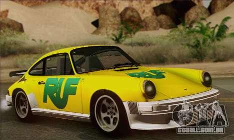 RUF CTR Yellowbird 1987 para GTA San Andreas interior