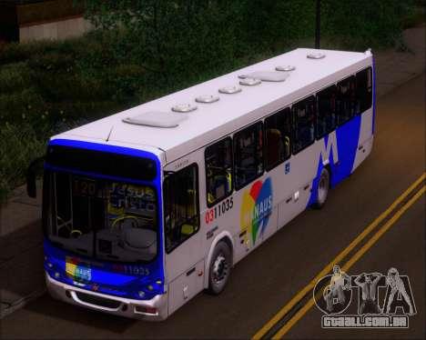 Marcopolo Torino 2007 Volksbus 17-230 EOD para GTA San Andreas vista traseira