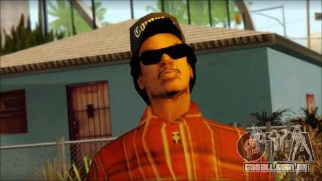 Eazy-E Red Skin v2 para GTA San Andreas terceira tela