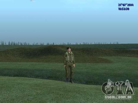 O Oficial Do Corpo De Fuzileiros Navais para GTA San Andreas terceira tela