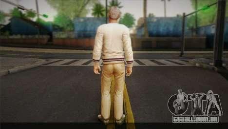 Frank Sunderland From Silent Hill: The Room para GTA San Andreas segunda tela