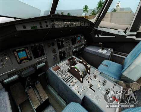 Airbus A320-232 British Airways para as rodas de GTA San Andreas