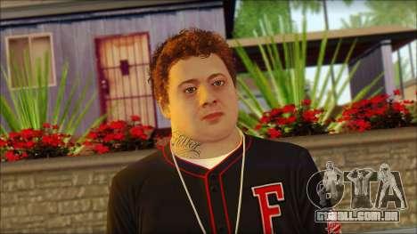 Jimmy De Santa para GTA San Andreas terceira tela