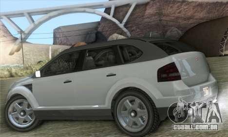 Vapid Radius 1.0 (HQLM) para GTA San Andreas esquerda vista