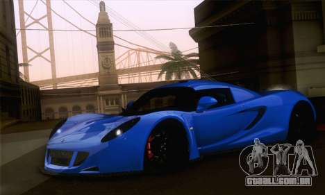Hennessey Venom GT para GTA San Andreas esquerda vista