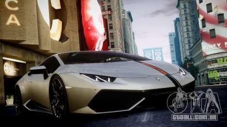Lamborghini Huracan LP850-4 2014 Wheelsandmore para GTA 4 vista de volta