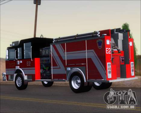 Pierce Arrow XT TFD Engine 2 para GTA San Andreas vista direita