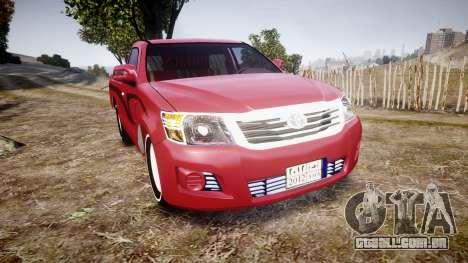 Toyota Hilux 2014 para GTA 4