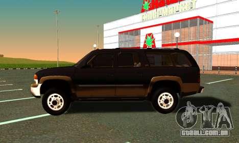 GMC Yukon XL ФСБ para GTA San Andreas vista direita