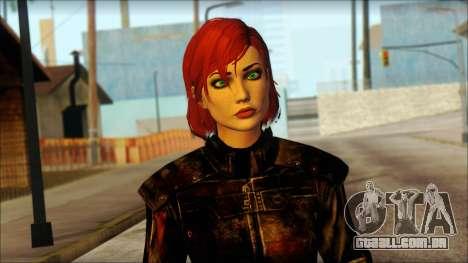 Mass Effect Anna Skin v6 para GTA San Andreas terceira tela