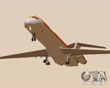 McDonnell Douglas MD-82 Iberia para GTA San Andreas vista interior