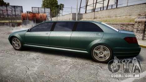 Benefactor Schafter Limousine para GTA 4 esquerda vista