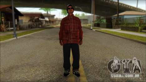 Eazy-E Red Skin v2 para GTA San Andreas