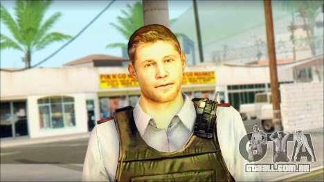 Um policial da TC SC: Convicção para GTA San Andreas terceira tela