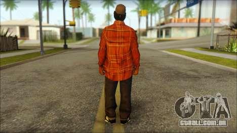 Eazy-E Red Skin v2 para GTA San Andreas segunda tela