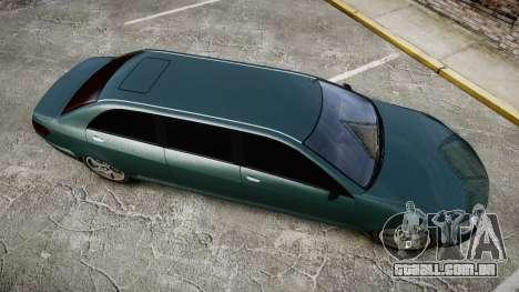 Benefactor Schafter Limousine para GTA 4 vista direita