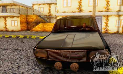 Dacia 1300 WRC Black Edition para GTA San Andreas