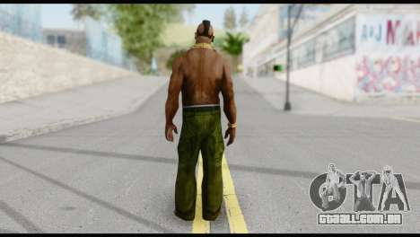 MR T Skin v3 para GTA San Andreas segunda tela