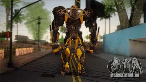 Bumblebee v2 para GTA San Andreas segunda tela