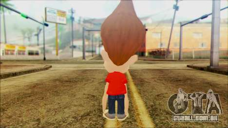 Jimmy Neutron para GTA San Andreas segunda tela