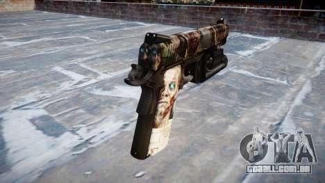 Arma Kimber 1911 Zumbis para GTA 4 segundo screenshot