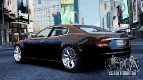 GTA 5 Lampadati Felon para GTA 4 esquerda vista