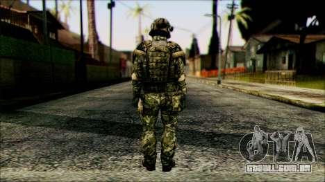 Lutador (PLA) v6 para GTA San Andreas segunda tela