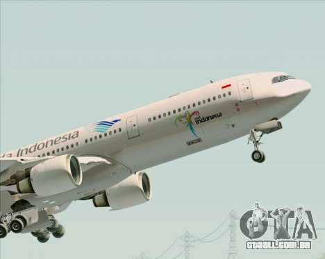 Airbus A330-300 Garuda Indonesia para o motor de GTA San Andreas