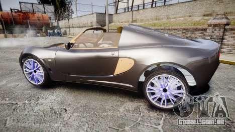 Lotus Exige para GTA 4 esquerda vista