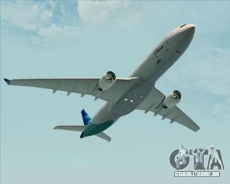Airbus A330-300 Garuda Indonesia para GTA San Andreas interior