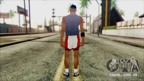 Wmyjg from Beta Version para GTA San Andreas segunda tela