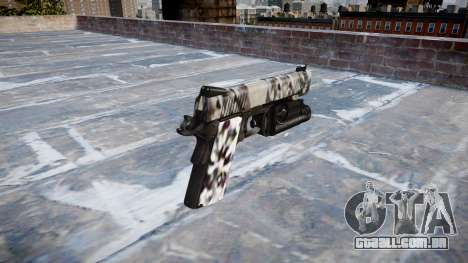 Arma Kimber 1911 Diamante para GTA 4 segundo screenshot