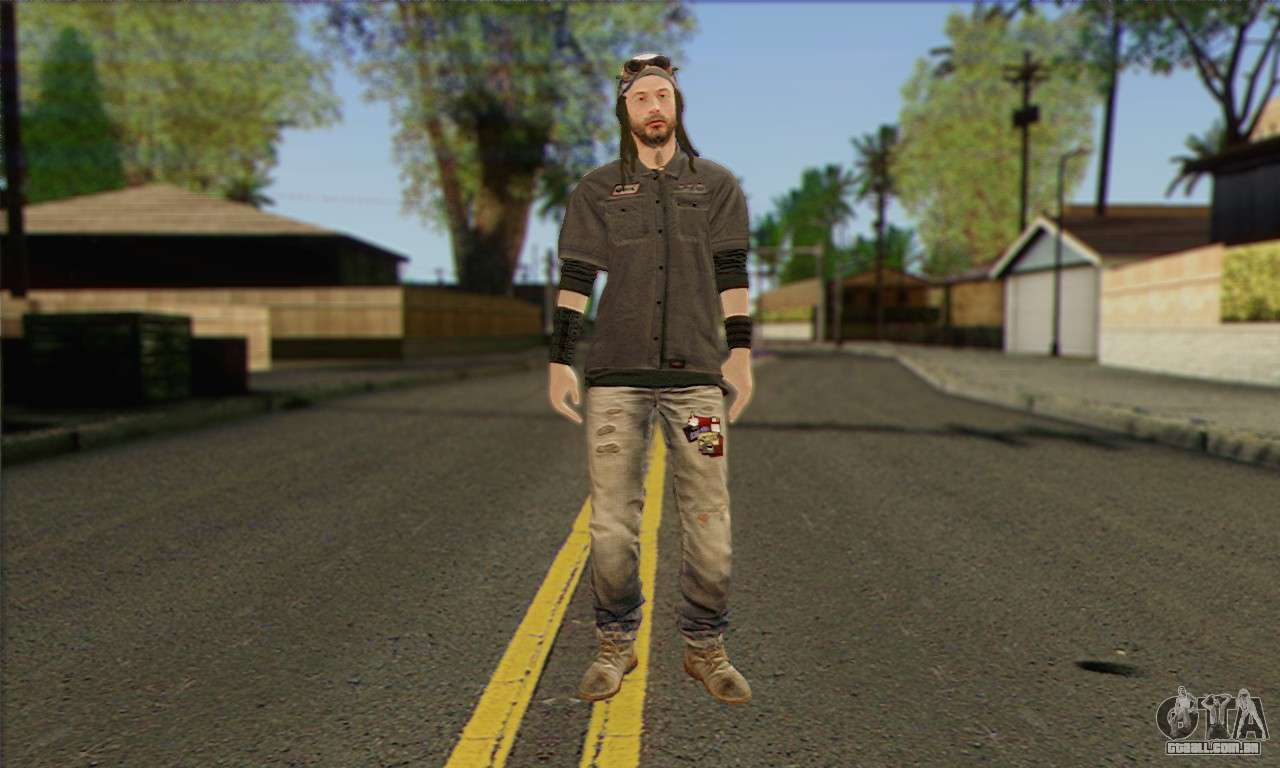Raymond Kenney From Watch Dogs Para GTA San Andreas