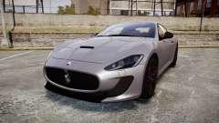 Maserati GranTurismo MC Stradale 2014 [Updated] para GTA 4