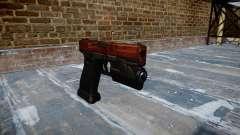 Pistola Glock de 20 bacon