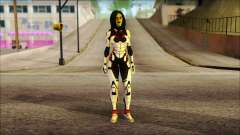 Guardians of the Galaxy Gamora v2 para GTA San Andreas
