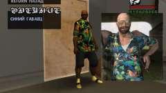 Camisa havaiana como max Payne