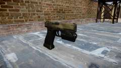 Pistola Glock de 20 a tac au