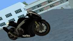 Aprilia RSV4 2009 Black Edition para GTA Vice City