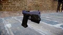 Pistola Glock de 20 blue tiger