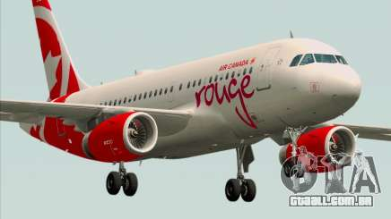 Airbus A319 Air Canada Rouge para GTA San Andreas
