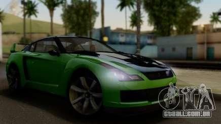 GTA V Elegy RH8 Twin-Turbo (IVF) para GTA San Andreas