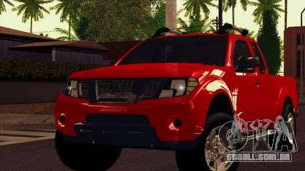 Nissan Frontier 2013 para GTA San Andreas
