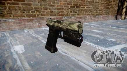 Pistola Glock de 20 benjamins para GTA 4