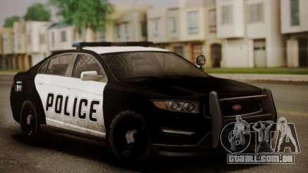 Vapid Police Interceptor from GTA V para GTA San Andreas