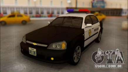 Chevrolet Evanda Police para GTA San Andreas